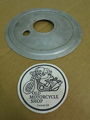 AJS Model 16 18 MATCHLESS G3L G80 Heavyweight Singles Rear Hub Cover Plate 7""