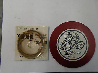 Yamaha Piston Rings    72-73 At3- Ct3    N.o.s. Part # 316-11610-00