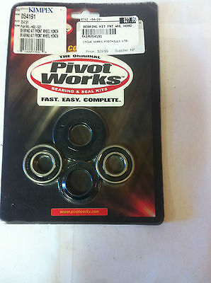 Honda 1985-1994 CR125R/250/500R Front wheel bearing Kit PWFWK-H02-521 NEW