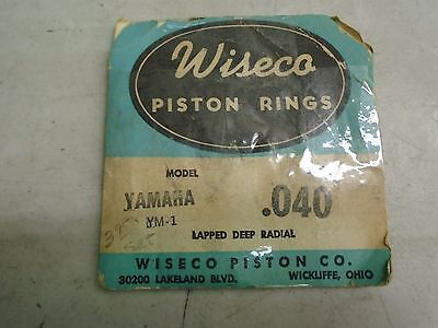 NOS YamahaYM-1 Wiseco Piston Rings .040