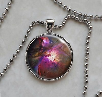 Choose Astronomy Image Science Astrophysics Space Planets Nebula Galaxy Necklace