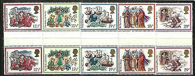 GREAT BRITAIN 1982 Very Fine MNH OG Pair Stamps Set Scott # 1006-1010 CV 9.50 $