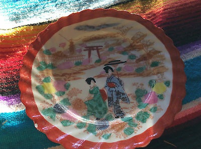 A Decorative Plate.japan.old