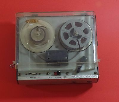 Vintage Portable Reel to Reel Tape Recorder Parts Repair Only