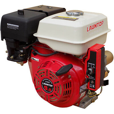 9HP Petrol Engine 4 Stroke OHV Motor with Electric Start - LAUNTOP