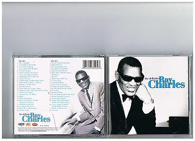 Ray Charles 2 Cd Set. The Definitive. Greatest Hits..very Best Of..