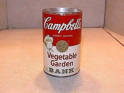 Vintage Campbells Advertising Soup Can Still Bank