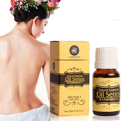 Free shipping 100% Pure Natural Essential Oils Carrier Oils Aromatherapy 10ml