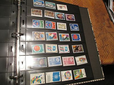 United Nations,un Ny, Mint  Nh Stamp Collection  $25