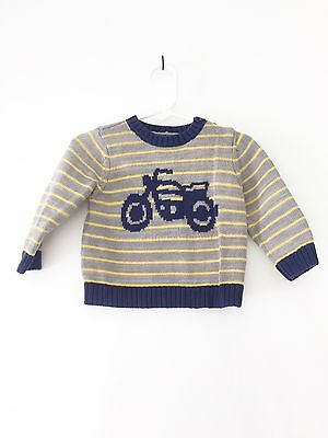 Gap Baby Boy Motorcycle Sweater 6-12 Months