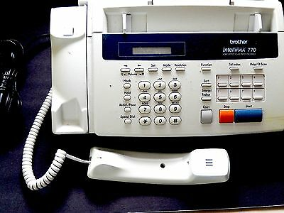 Brother Inteliefax 770 Phone Fax Unit