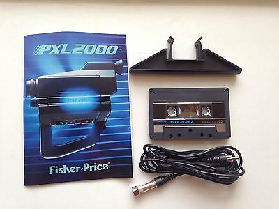 Fisher Price pxl 2000 Pixel 2000 Tape-Instructions-Stand