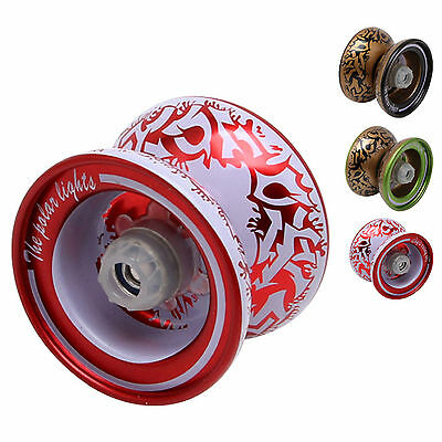 Cool Aluminum Professional YoYo Ball Bearing String Trick Alloy Kids Toy Gift