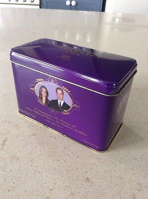 Royal Wedding Tea Tin William And Catherine