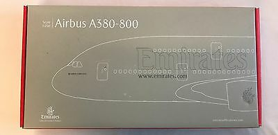Airbus A380-800 Faulty Scale 1:200 Fault Emirates Aeroplane Model Plane