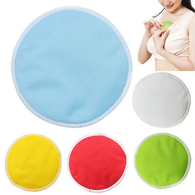 Pop Breast Pad Reusable Washable Bamboo Fiber Nursing Pad Baby Feeding Cover 1PC