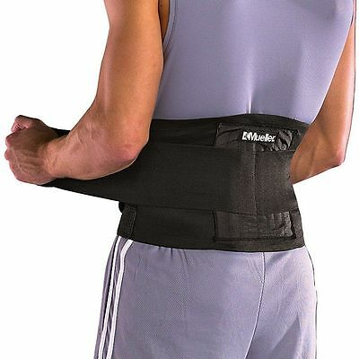 Mueller Back Brace Advanced Adjustable Lumbar Support - Physio Rec.