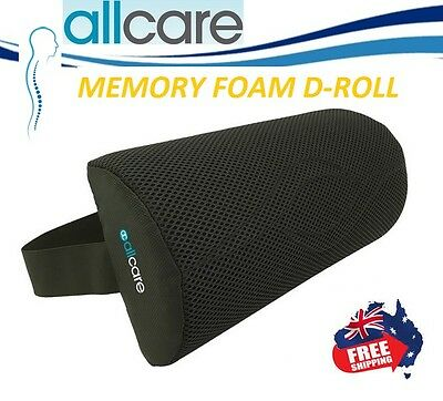 Allcare D Roll Lumbar Back Support Car Cushion ~ All Care Posture Corrector