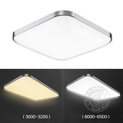 LED Ceiling Panel Down Light Day/Warm White Dimmable Kitchen Bathroom Lamp