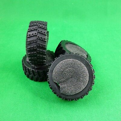 Rally tires with inserts for 1:10 RC cars, may fit Tamiya Sakura HPI Colt  S8063