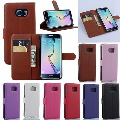 Magnetic Flip PU Leather Wallet Case Cover Card For Samsung Galaxy S3/S4/mini S5