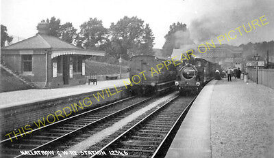 Hallatrow Railway Station Photo. Clutton - Midsomer Norton. Radstock Line. (14)