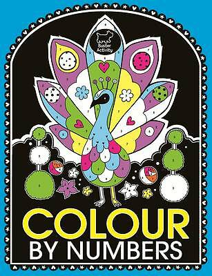 Colour by Numbers book-new paperback