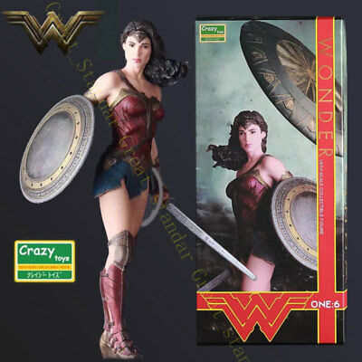 "Crazy Toys 1/6 12"" 30cm DC Comic Justice League Wonder Woman Action Figure Doll"