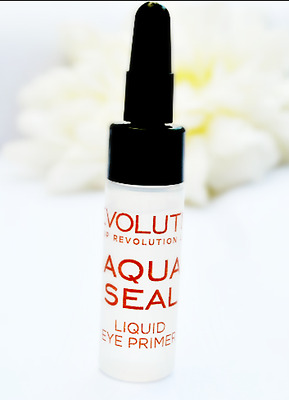 MAKEUP REVOLUTION Aqua Seal Liquid Eye Primer Long Lasting No Crease Eyeshadow!