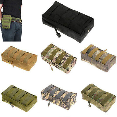 1Pc Outdoor Tactical Molle Waist Pack Utility Pouch Bag Waterproof Sports Bag