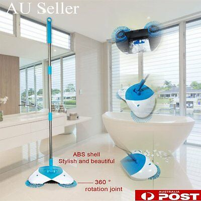 Spin Broom hand-propelled home sweeper Cleaning floor Non electric BU