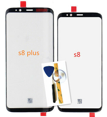 F/For Samsung Galaxy S8 Plus Replacement Front Outer Screen Glass Lens