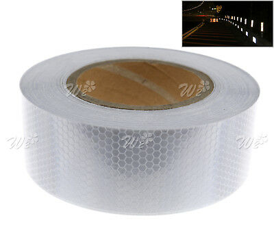 Self-Adhesive Reflective Safety Warning Silver Tape Vehicle Indicator 5cmx25m