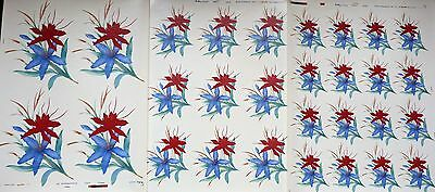 Ceramic Decals Matthey 29 On 3 Sheets Manderlay  646397 Right Price
