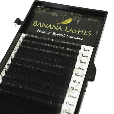 Individual Eyelash Extensions Mixed Length Faux Mink 8mm-13mm C/D Curl 0.15/0.07