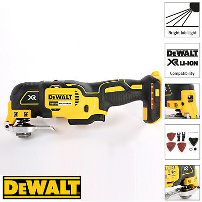 Dewalt DCS355N 18v XR Brushless Oscillating Multi-tool Naked Body Only