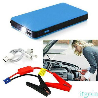 12V 20000mAh Multi-Function  Blue Car Jump Starter Battery Power Booster Charger