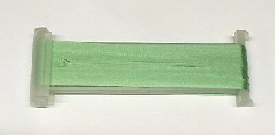 YLI Silk Ribbon 4mm x 3m - Shade 018 - Light Fern Green