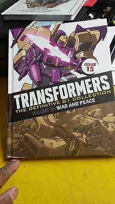 """Transformers  Definitive """" G1 """" Collection, =Issue =15, = War & Peace, =  Vol.26"""