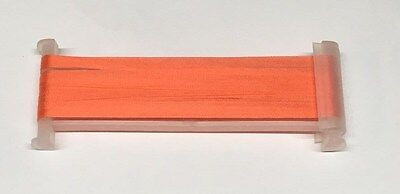 YLI Silk Ribbon 4mm x 3m - Shade 043 - Red Salmon