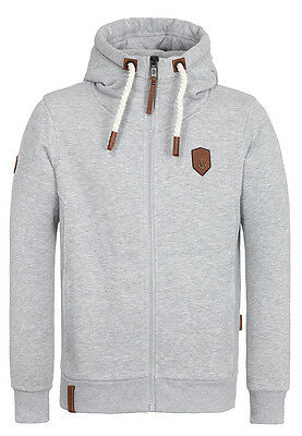 naketano herren zip hoodie sweatshirt kapuzenjacke birol vi grey melange m eur 39 50 picclick de. Black Bedroom Furniture Sets. Home Design Ideas