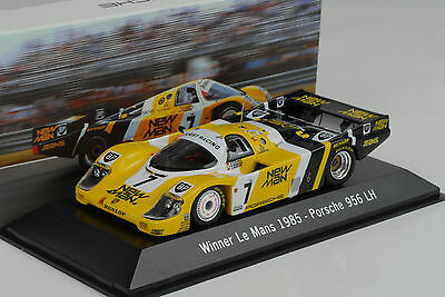 1985 Porsche 956 LH JOEST NEW Man #7 Winner 24 H Le Mans 1:43 Spark Museum Map