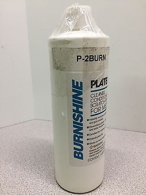 1 Qrt Burnishine-Plate Sav-ur Metal Plate Cleaner,Conditioner,Scratch remover(W