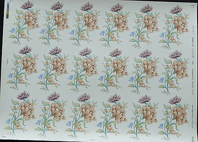 CERAMIC DECALS 646794 18 ON A SHEET CANTERBURY  9 cm X6 cm RIGHT PRICE