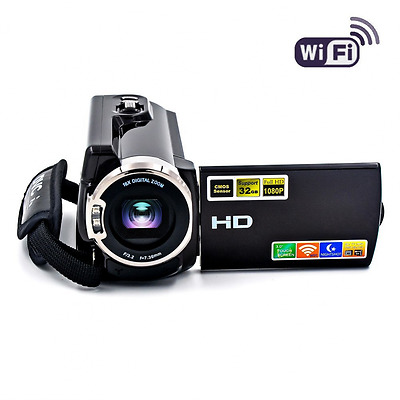 Camcorder WIFI Video Camera FHD 1080P Night Vision 20MP 16X Digital Zoom Touch