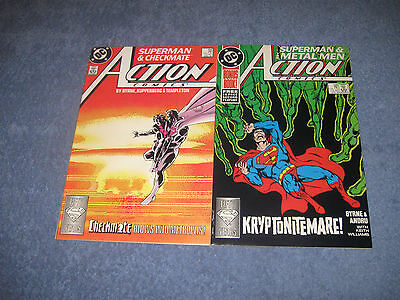 Lot of 2 Action Comics DC Copper 598-599 VF+