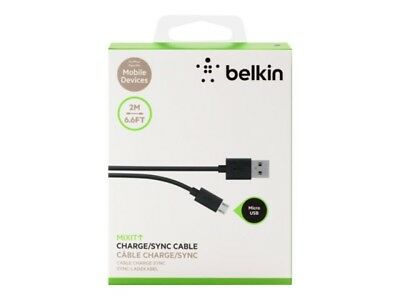 Belkin 2M(6.6Ft) Lightning Charge Cable - For iPhones, iPods, and iPads