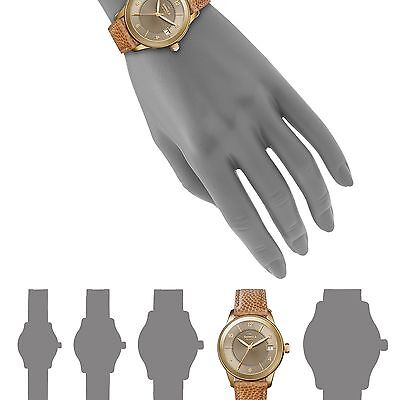 Shinola The Gail Pvd Gold & Leather Strap Watch