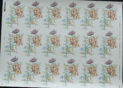 CERAMIC DECALS 646794 CANTERBURY18 ON A SHEET  9 cm X6 cm RIGHT PRICE
