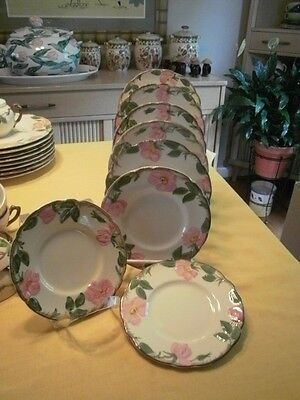 Franciscan Desert Rose Bread Plates (8)